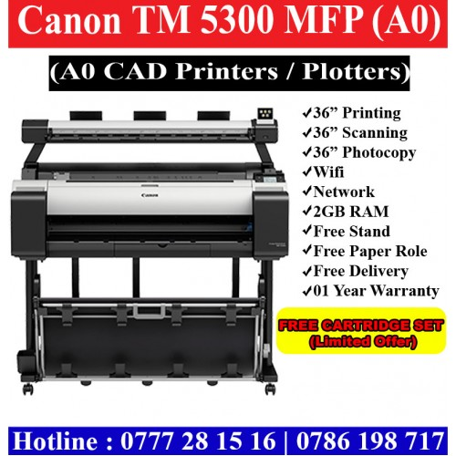 Canon Tm 5300 Multi Function Printers A0 Multi Function Plotters