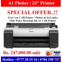 A1 CAD Printers | A1 Plotters discount offer in Sri Lanka. Limited Offer