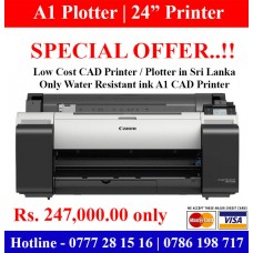 A1 CAD Printers   A1 Plotters discount offer in Sri Lanka. Limited Offer