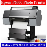 Epson P6000 Large format Photo Printers Sri Lanka. Epson Plotters