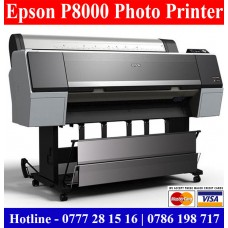 Epson P8000 Large format Photo Printers Sri Lanka. Epson Plotters